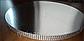 Подложка  усиленная круг серебро 26 см  h -2 см, фото 2