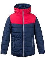 Двухцветная супер модная теплая зимняя куртка для мальчиков 6-16 лет, цвета разные - S9957