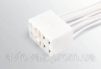 Разъем клавишного переключателя ВАЗ 2101-07 с проводами