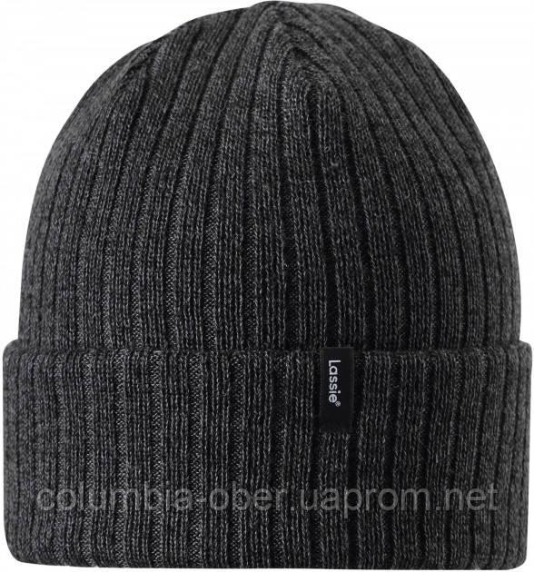 Демисезонная шапка-бини для мальчика Lassie by Reima Andri 728762-9991. Размер 54/56.