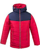Двухцветная супер модная теплая зимняя куртка для мальчиков 6-16 лет, цвета разные - S9958