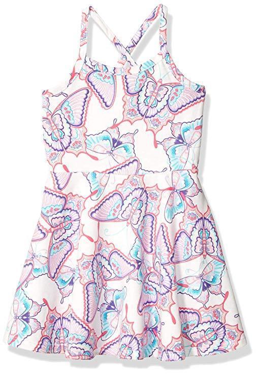 Летнее платье без рукавов Бабочки Сhildren's Place для девочки