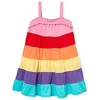 Разноцветное платье без рукавов Сhildren's Place для девочки, фото 1