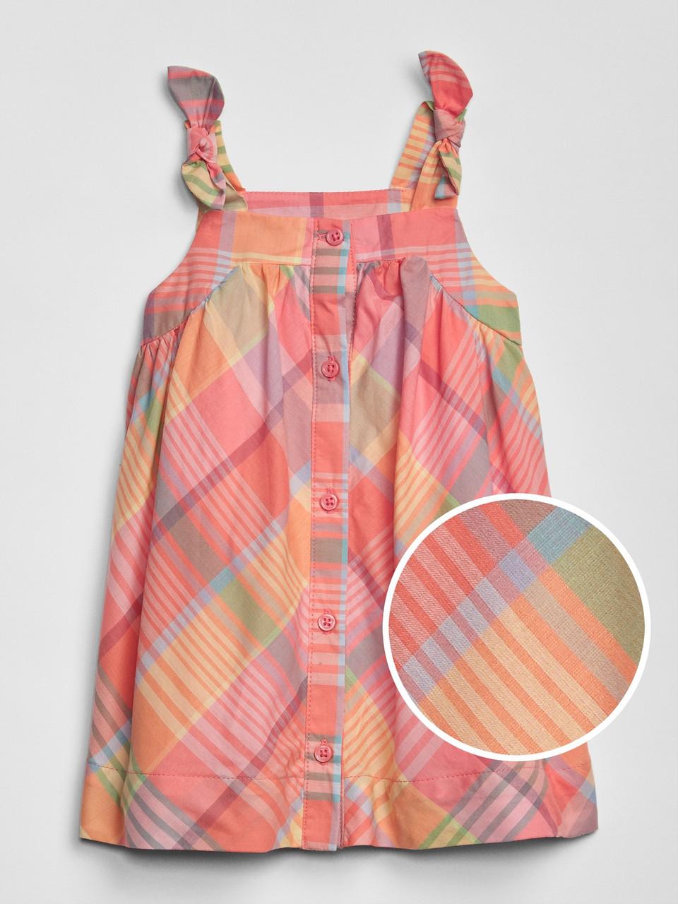 Летние платье на пуговичках GAP для девочки