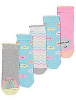 Набор детских носочков 5 шт Джордж для девочки