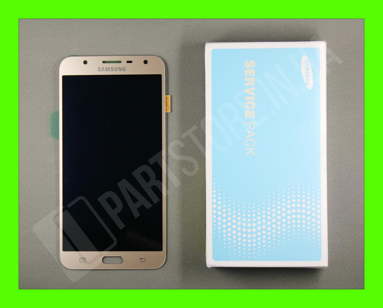 Дисплей Samsung j701 Gold j7 neo 2018 (GH97-20904B) сервисный оригинал