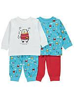 Трикотажные детские пижамы Джордж для мальчика (поштучно)