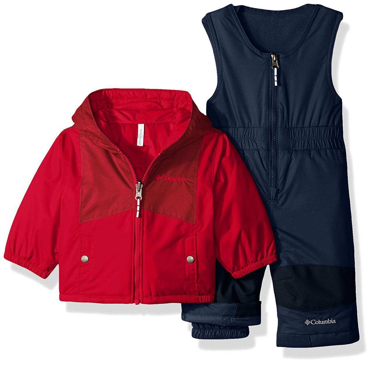 Зимовий термо костюм - напівкомбінезон і куртка Columbia для хлопчика
