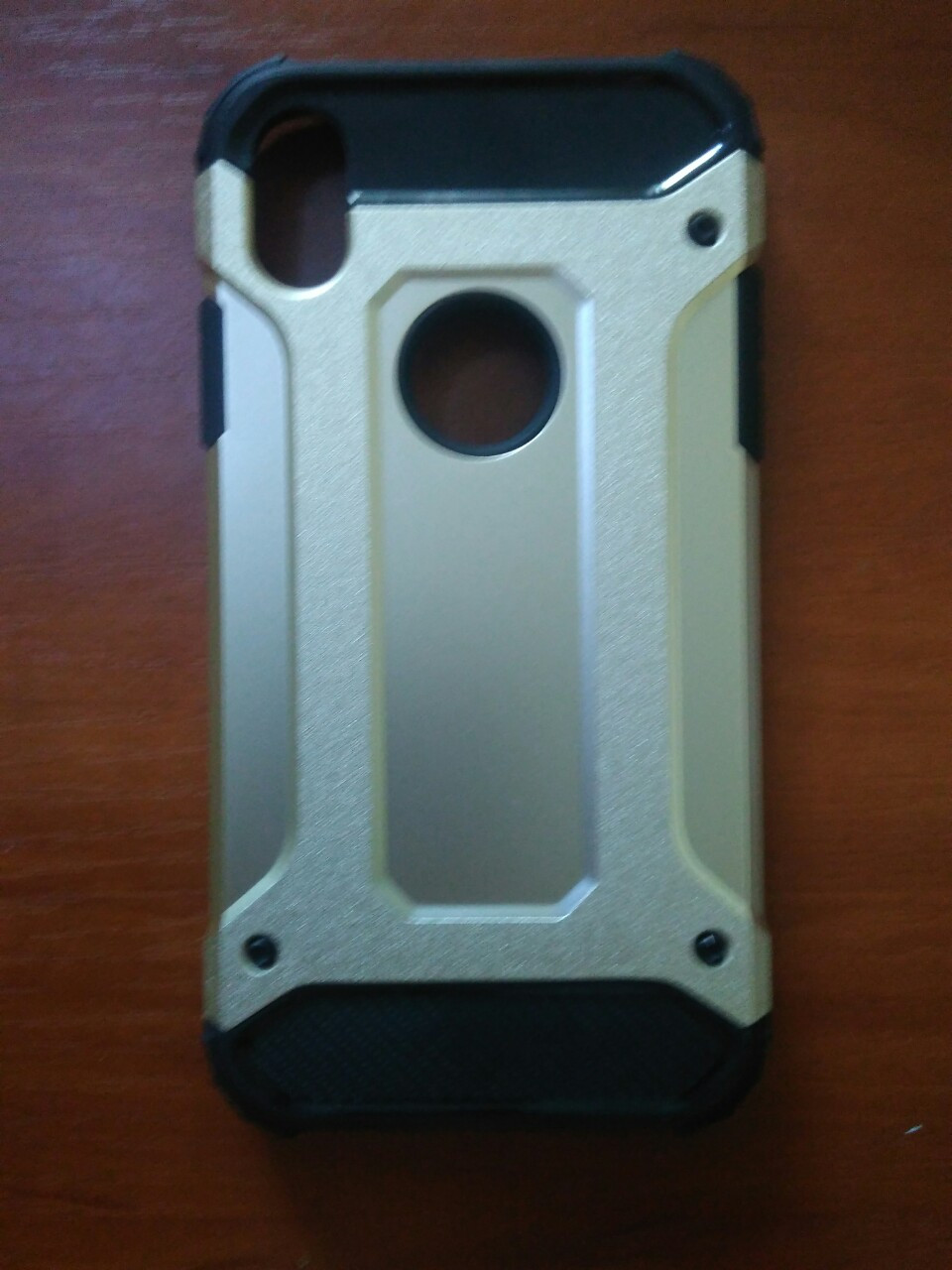 Чехол трансформер  противоударный Armor  iPhone Xr 6.1 (золото)
