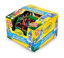 Большой подарочный набор восковых цветных мелков (карандашей) 152 шт. с точилкой Crayola