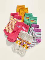 Набор детских носочков 6 пар Дино Олд Неви для девочки