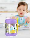 Детский термос для еды с единорогом Skip Hop (США), посуда скип хоп для малышей, фото 5