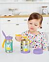 Детский термос для еды с единорогом Skip Hop (США), посуда скип хоп для малышей, фото 6