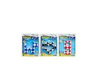 Игра 606  головоломка, змейка, 3 вида(микс цветов), на листе, 10,5-14,5-2см(Нем 606)