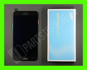 Дисплей Samsung j700 Black j7 2015 (GH97-17670C) сервисный оригинал, фото 2