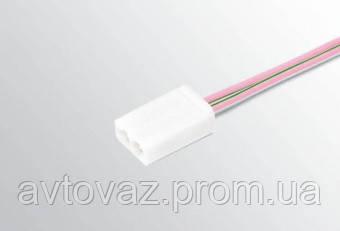 Разъем лампы подсветки панели приборов с проводами