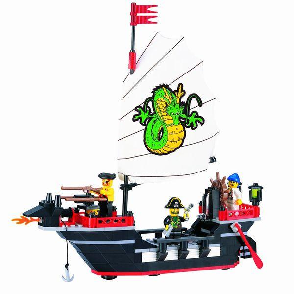 Конструктор Brick 301 Пиратский корабль