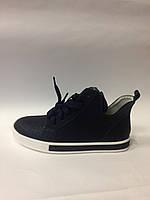 Ботинки для девочки Bessky 81017-5 синие р.34,36,37
