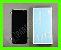 Дисплей Samsung j600 black j6 2018 (GH97-21931A) сервисный оригинал