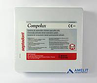 Комполюкс (Compolux, Septodont), набор 2 пасты по 14г + аксессуары, фото 1