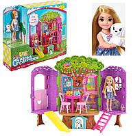 Игровой набор Барби Домик на дереве Челси кукла Barbie Club Chelsea оригинал Mattel