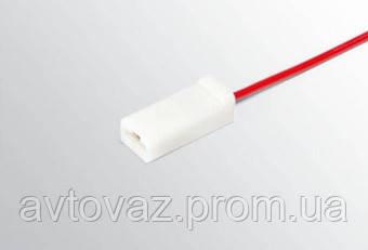 Разъем межжгутовой 1 контактный серии 6,3 с проводом  гнездовой