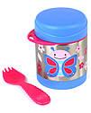 Детский термос для еды с бабочкой Skip Hop (США), посуда скип хоп для малышей, фото 3
