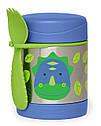 Детский термос для еды с динозавром Skip Hop (США), посуда скип хоп для малышей, фото 4