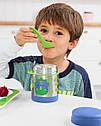 Детский термос для еды с динозавром Skip Hop (США), посуда скип хоп для малышей, фото 2