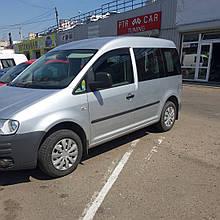 Дефлекторы окон (ветровики) клеющие / накладные Д/о  VW Caddy  2004->  2шт  (ANV-AIR)