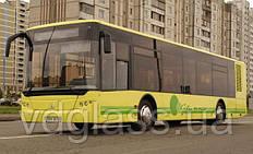 Лобовое стекло ЛАЗ А 183, троллейбус ЛАЗ Е 183, (ElectroLAZ-12, Электро ЛАЗ-12), от украинского производителя
