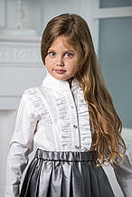 Школьная рубашка для девочки Школьная форма для девочек BAEL Украины 5733 134