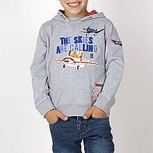 Детская толстовка для мальчика BRUMS Италия 133BFFL010 Серый