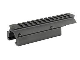 Монтажная планка низкая для MP5/G3 [Vector Optics] (для страйкбола)
