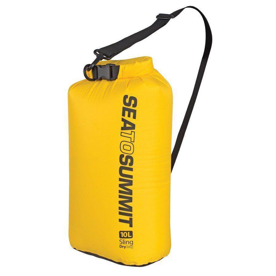 Гермомешок Sea To Summit - Sling Dry Bag Yellow, 10 л (STS ASBAG10LYW)(Объем 10 л)