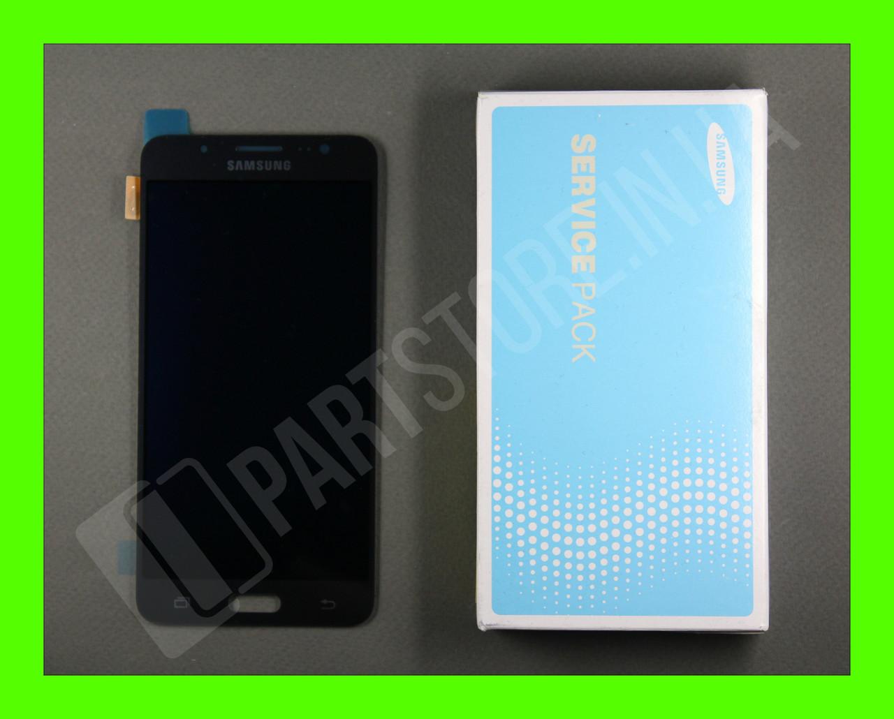 Дисплей Samsung j510 Black j5 2016 (GH97-19466B) сервисный оригинал