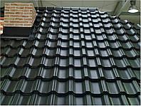 Модульная металлочерепица премиум класса BUDMAT Venecja D-Matt производства Arcelor Mittal (Германия), фото 1