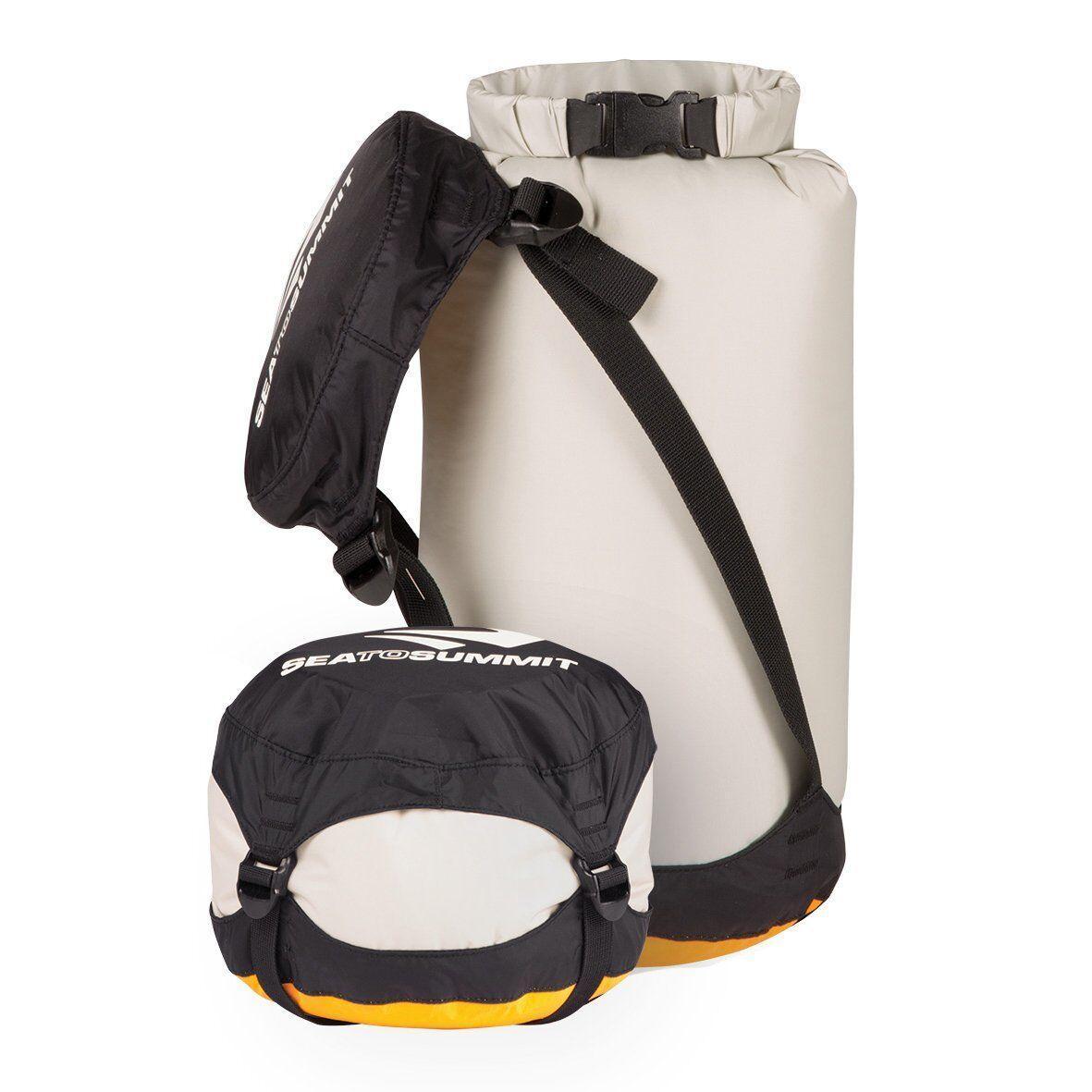 Компрессионный гермомешок Sea To Summit - Nylon Compression Dry Sack Grey, 10 л (STS ADCSS)(Объем 10 л)