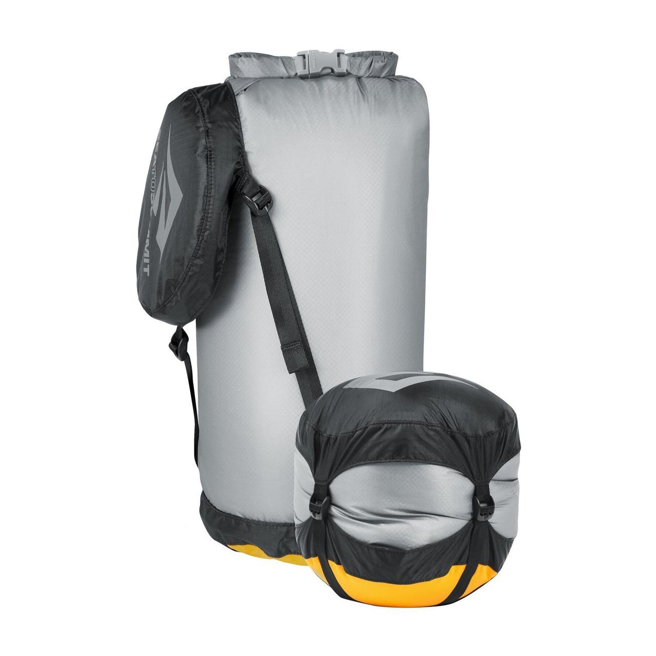 Компрессионный гермомешок Sea To Summit - Ultra-Sil Compression Dry Sack Grey, 10 л (STS AUCDSS)