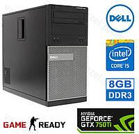 Dell OptiPlex 390 - Intel Core i5-2400/ 8GB DDR3/ GeForce GTX750Ti 2GB/ 500GB HDD Системный блок, Компьютер