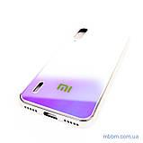 Чохол TPU Gradient Rainbow з лого Xiaomi Mi A3 / CC9e блакитний, фото 3