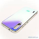 Чохол TPU Gradient Rainbow з лого Xiaomi Mi A3 / CC9e блакитний, фото 4
