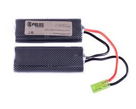 Akumulator NiMH 2300 mAh 9,6V - typ modułowy mini [8FIELDS] (для страйкбола)