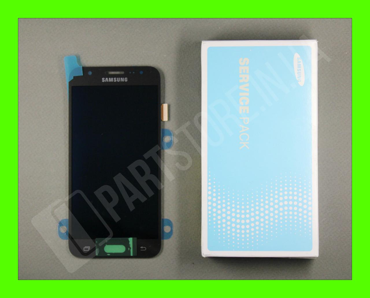 Дисплей Samsung j500 Black j5 2015 (GH97-17667B) сервисный оригинал