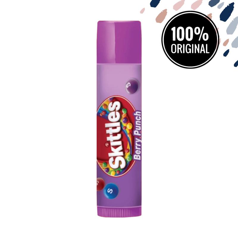 Бальзам для губ со вкусом ягодного пунша LIP SMACKER Skittles Berry Punch