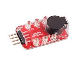 Alarm zabezpieczający akumulatory LiPo [8FIELDS] (для страйкбола)