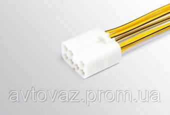 Разъем выключателя аварийной сигнализации ВАЗ 2170, 2171, 2172 с проводами