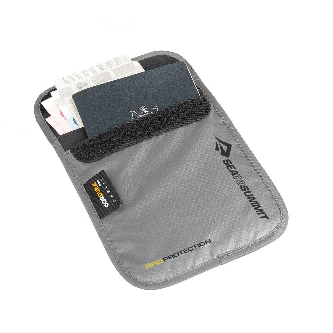 Кошелек нательный Sea To Summit - TL Ultra-Sil Neck Pouch RFID Grey, 15 х 12.5 х 1.3 см (STS ATLNPRFIDS)