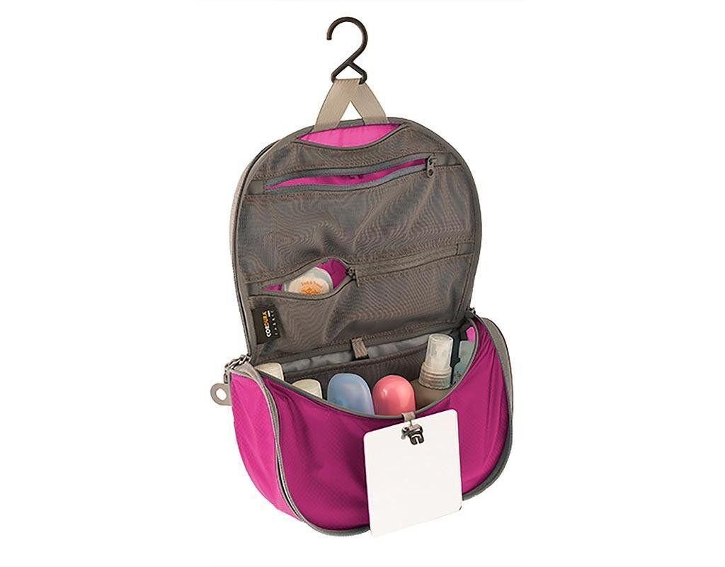 Косметичка Sea To Summit - TL Hanging Toiletry Bag Berry/Grey, 20.3 х 10.2 х 10.2 см (STS ATLHTBSBE)(Размер 20.3 х 10.2 х 10.2 см)
