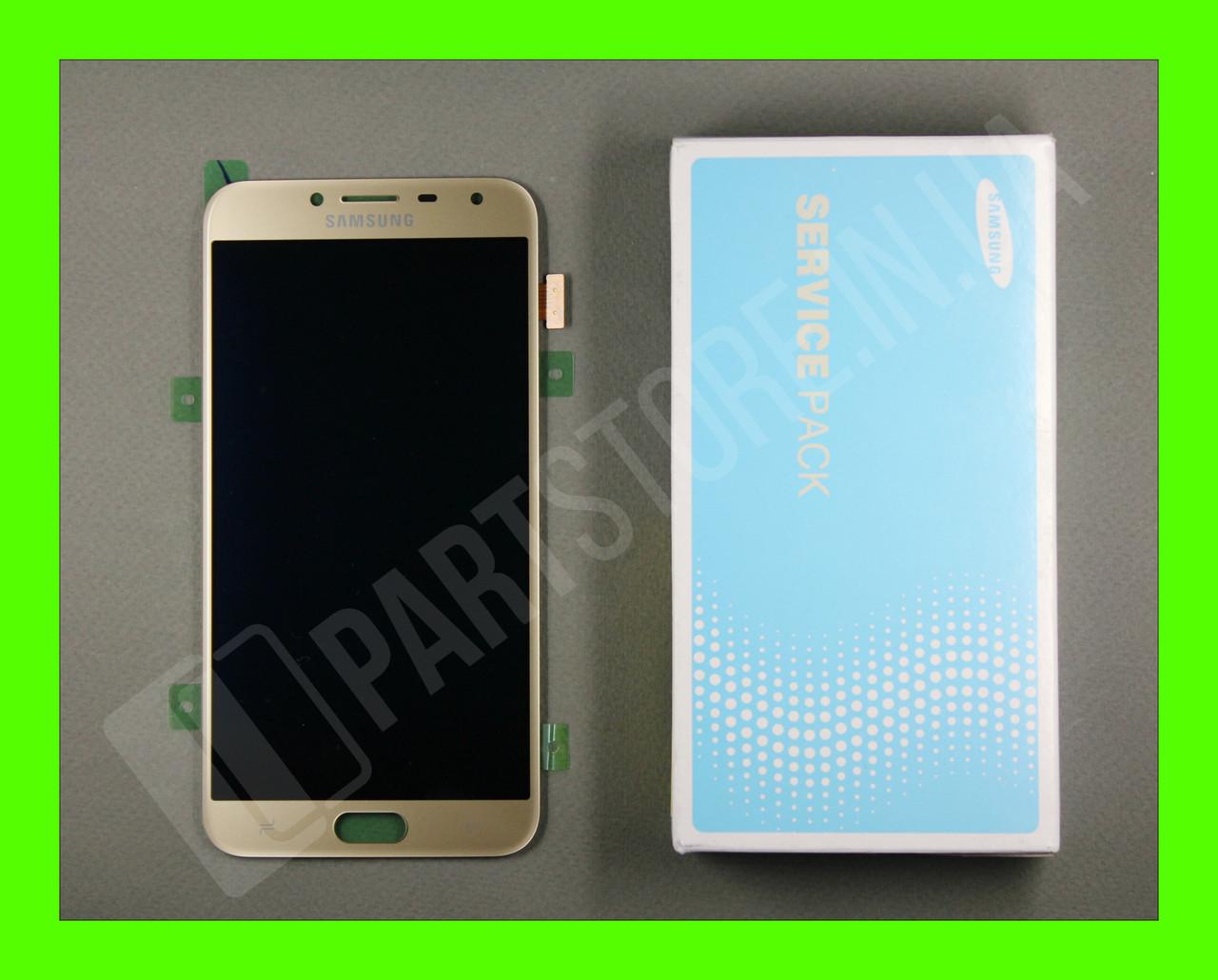 Дисплей Samsung j400 Gold j4 2018 (GH97-21915B) сервисный оригинал